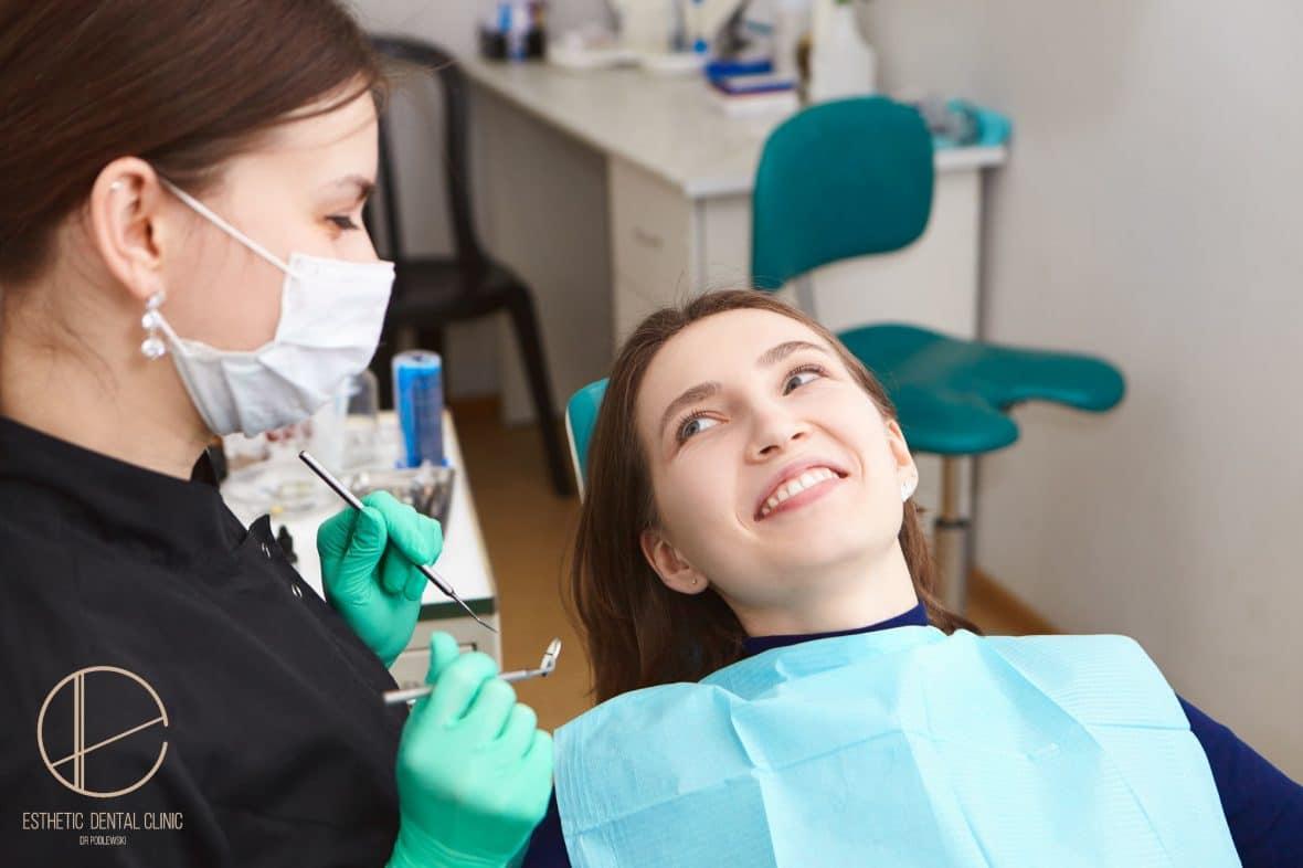 stomatologia estetyczna Toruń - poprawa uśmiechu